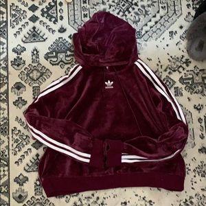 Adidas Velvet hoodie